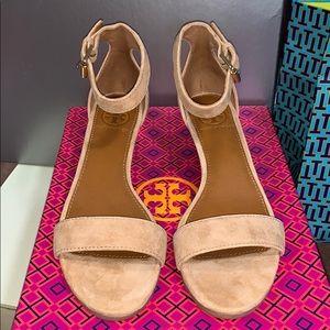 Savannah 45MM Wedge Sandal-Soho Lux Suede